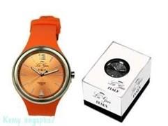 Часы наручные La Geer, d=4 см, оранжевые