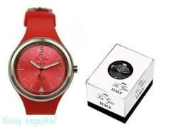 Часы наручные La Geer, d=4 см, красные