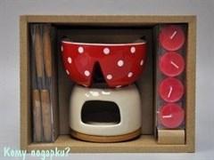 Набор подарочный для фондю, 26x20x14 см