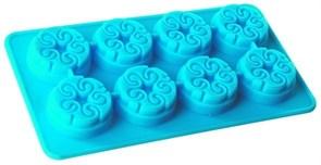 Форма силиконовая для льда «Узорная»