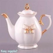 Заварочный чайник с бантиком, 900 мл