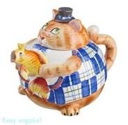"""Заварочный чайник """"Кошка с рыбкой"""", 1000 мл"""