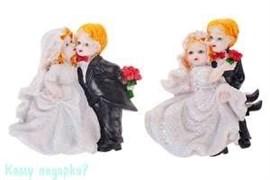 "Набор из двух магнитов ""Свадьба"", 7х9 см"