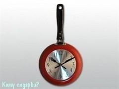 Часы кухонные «Сковородка»