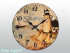 """Часы настенные с рисунком """"Маяк"""""""