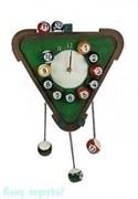 Часы настенные «Бильярд», 30x45x5 см