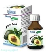 Авокадо, косметическое-жирное масло 30 мл