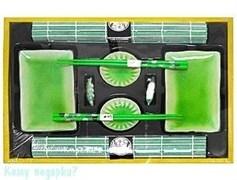 Набор для суши на 2 персоны, ярко-зеленый