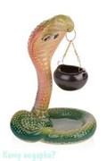Аромалампа «Кобра», керамика