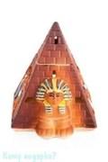 Аромалампа «Пирамида», керамика, 11х14 см