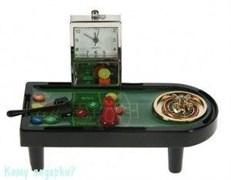 Часы настольные «Рулетка»