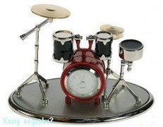 Часы настольные «Музыкальная группа»