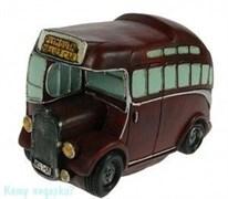 Копилка-ретро «Автобус», 17x8x12 см