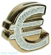 Копилка «Евро», 12x7x15 см