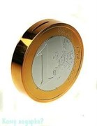 Копилка «Евро», 12х3х12 см