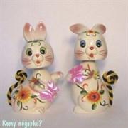 Копилка «Два зайца»