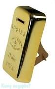 Копилка «Золотой слиток», 10х4х18 см