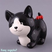 """Копилка """"Кошка черная"""", 14 см"""