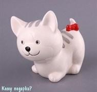 """Копилка """"Кошка белая"""", 14 см"""