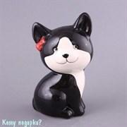 """Копилка """"Кошка черная"""", 17 см"""
