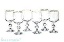 """Набор винных бокалов из 6 шт. """"Клаудия"""", 230 мл"""
