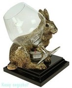 Коньячница с подогревом «Кролик»