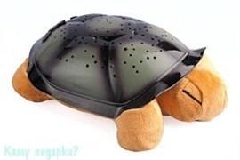 Ночник музыкальный «Черепаха» - проектор звездного неба, 32х20х9 см