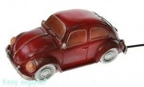 Светильник «Ретро авто», 28x13x13 см, красный