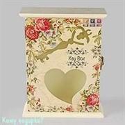 Ключница «Сердце»,  17х22х5 см