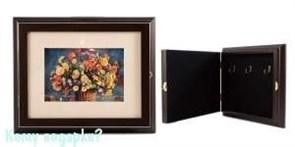 Коллаж-ключница 3D «Полевой букет», 29x24x5 см