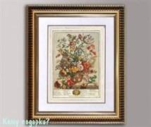 Панно 3D «Садовые цветы», 38х33 см