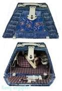 Набор для пикника на 2 персоны, 46х30х19х26х24 см