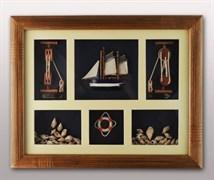 Коллаж «Морской», 48х38 см