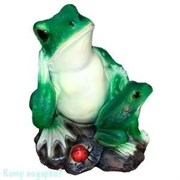 Фигура декоративная «Лягушка с лягушонком», 24х24х22 см