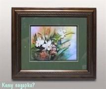 Панно 3D «Букет цветов», 39х34 см