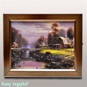 Ключница «Деревенский домик», 26x21 см