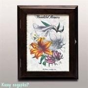 "Настенная ключница ""Цветок"", 31.5x25.5 см"