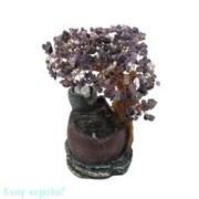 Фонтан «Дерево счастья», h=26 см, фиолетовый