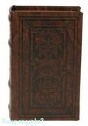 Шкатулка-фолиант «Средневековый узор», 17x11x5 см