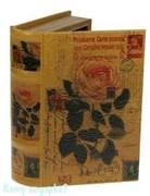 """Шкатулка-фолиант """"Розы"""", 21x13x6 см"""