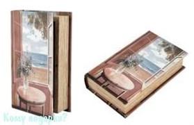 Шкатулка-фолиант «Морской бриз», 21x13x5 см