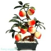 Дерево «Персики», 8 плодов, 36 см