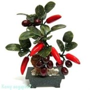 Дерево «Перцы с виноградом», 23 см