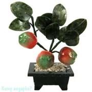Дерево «Яблоки», 3 плода, 16 см