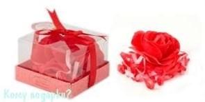 """Мыло """"Розы"""" в подарочной упаковке"""