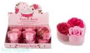 Набор декоративного мыла «Роза» 12 шт