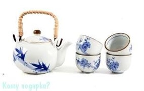 Набор для чайных церемоний «Восточный» на 4 персоны, 16х28х11 см