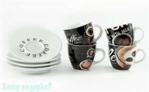 Набор кофейный на 4 персоны, 001
