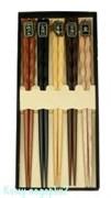 Набор палочек для суши на 5 персон, 25х11х2 см, 002