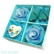 Набор ароматический, синий, 9х9х3,5 см